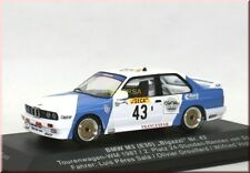 "BMW M3 E30 "" Francespar "" TW-WM 1987 #43 2nd Spa - Bigazzi - IXO - 1:43 - LE"