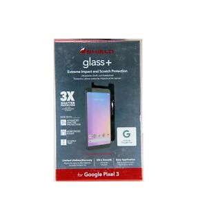 ZAGG INVISIBLE SHIELD GLASS+ FR GOOGLE PIXEL 3 SMUDGE PROOF APPLY TRAY 200301952