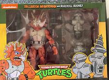 NECA Teenage Mutant Ninja Turtles Triceraton Infantryman & Roadkill Rodney