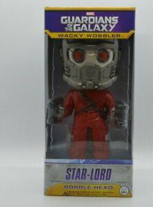 """Wacky Wobbler"" Guardians of The Galaxy Star Lord Bobble Head Figure"