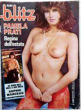 RIVISTA MAG ALBO BLITZ N.33 1985 POSTER PAMELA PRATI SOPHIE MARCEAU