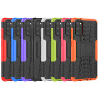 Shockproof Rugged Slim Hybrid Armor Hard Case Stand Cover For Samsung Galaxy S20