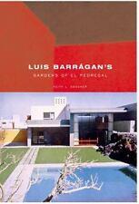 Luis Barragan's Gardens of El Pedregal Building Studies
