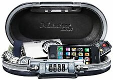 Master Lock Portable Combination Safe Waterproof Travel Lock Box Security Small