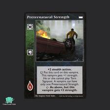 1x Preternatural Strength - Vampire Eternal Struggle VTES Jyhad