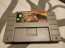 Super Nintendo Donkey Kong Country COMPETITION Holy Grail Authentic RARE