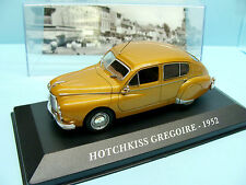 ALTAYA / IXO /VOITURE D EXCEPTION / HOTCHKISS GREGOIRE 1952 1/43