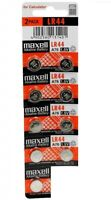9 NEW LR44 MAXELL A76 L1154 AG13 357 SR44 303 BATTERY FRESHLY NEW - USA Seller