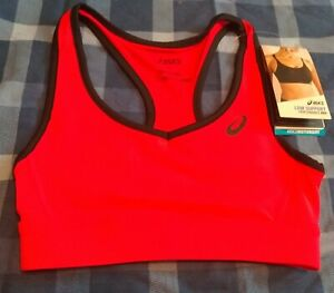 Asics Racerback Sports Bra MotionDry, Low Support, Pink, XS only, girls