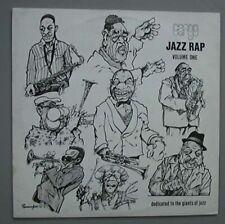 "CARGO JAZZ RAP VOLUME 1 12"" P/S + INNER - 1985 UK"