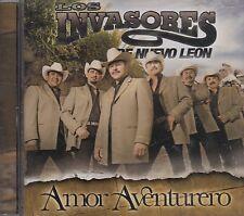 Los Invasores De Nuevo Leon Amor Aventurero CD New Nuevo Sealed Sellado