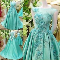Ball Gown Formal Quinceanera Dress Evening Party Prom Gowns Dresses Custom size