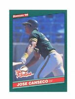 1986 Donruss The Rookies #22 Jose Canseco Oakland Athletics Rookie Card