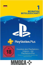PSN Karte 30 Tage 1 Monat Playstation Plus Network - Download Key PSN Card [DE]