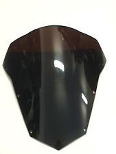 Bulle double courbure YAMAHA FZ6 FAZER600 S2 2007 2010 NOIR WINDSCREEN BLACK