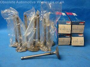 1963 1964 1965 Ford Mercury 260 289 Intake Valve 003 oversize Set 8 Mustang USA