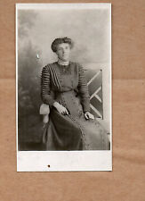 real photo of Newcastle lady in Edwardian dress Newcastle Studio  BR1
