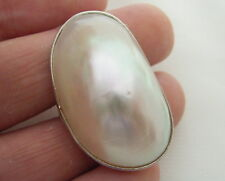 Natural white Shell Pearl Adjustable Ring