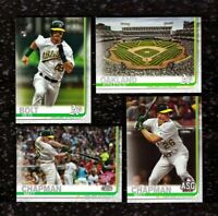 2019 Topps 1 2 & Update OAKLAND ATHLETICS A's Team Set  31 Cards