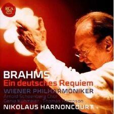 """SOST. Harnoncourt """"Brahms: un Deutsches Requiem..."""" CD NUOVO"""