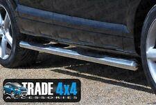 AUDI Q7 Marche-pieds B2 Gros Tuyau 70mm 3 pouce guidon latéral 4x4