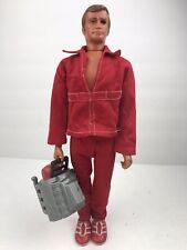 Six Million Dollar Bionic Man STEVE AUSTIN Action Figure 1975 w/ Engine Block