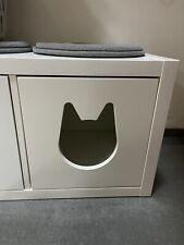 Kallax Katzenhaus Ikea weiß passend für Kallax Regal Regaleinsatz Katzenhöhle