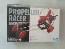 4M Propeller Racer Fun Mechanics Kit New In Box Still In Plastic Science Kit