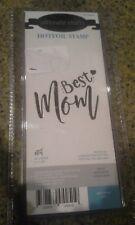 Ultimate crafts Hot foil stamp plate - Best Mom