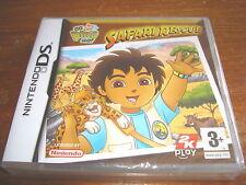 GO DIEGO GO SAFARI RESCUE ** New & Sealed ** Nintendo Ds Game