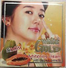White Gold Whitening Cream With Papaya Extracts 100% Genuine Product