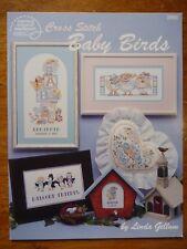 AMERICAN SCHOOL OF NEEDLEWORK CROSS STITCH PATTERN BOOK 3566 - BABY BIRDS