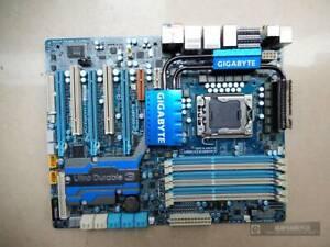 1Pc Used Gigabyte Technology GA-EX58-UD5 64GB LGA 1366/SocketB Intel Motherboard