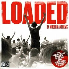 Loaded (Modern Anthems) (2 x CD 2013) Stone Roses Primal Scream Iggy Pop Coral