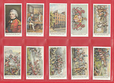 MILITARY  -  DAYS OF WELLINGTON  -  SET  OF  25  CARDS  -  FRY & SONS  REPRINTS