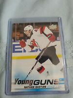 Nathan Bastian 2019-20 Upper Deck Young Guns Rookie RC #205 Devils