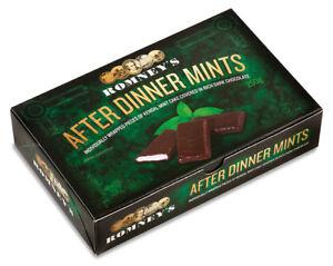 Kendal Mint Cake Romney's Kendal Mintcake After Dinner MInts  Box  250g