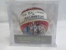 LIMITED EDITION UNFORGETTABALL THE BALLPARK IN ARLINGTON BASEBALL TEXAS RANGERS