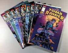 Top Cow TOMB RAIDER #1-8 + #2 Dynamic Forces VARIANT Laura Croft NM SHIPS FREE!