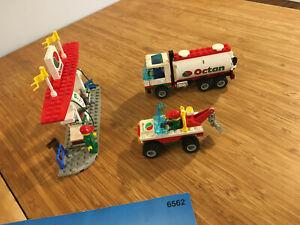 Lego City Town Set 6562 Gas Stop Shop (1995).
