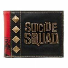 DC Comics Suicide Squad Logo & Studs Men's Wallet