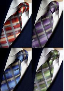 NEU - Casa Moda Herren Business Krawatte- Seide- 4 Farben - Karomuster- Geschenk