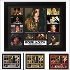 Michael Jackson Signed Framed Memorabilia Limited Ed. 2017-Multiple Variations #