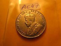 1933 High Grade Canada 5 Cent Coin ID#AC47.