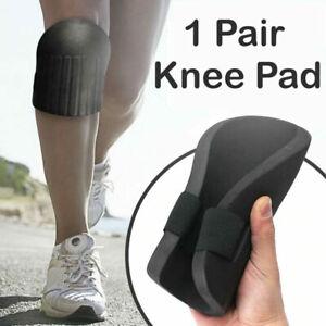 1 Pair Professional Foam Knee Pad Protectors Kneeling Sport Work Kneepad Covered