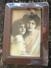 NEW Wood Photo Frame Brown