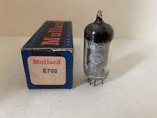MULLARD VACUUM TUBE - EF86 - GREAT BRITAIN - NOS - TESTED