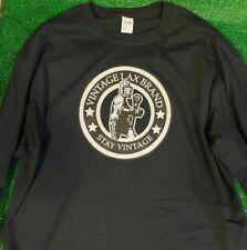 Vintage Lax Brand Lacrosse Long Sleeve Lacrosse Shirt (Large)