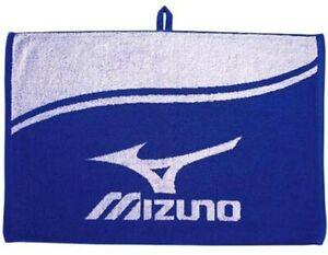 Mizuno Japan Golf Golfer Towel 60 x 40cm Blue 98PE15705 With Tracking Japan NEW