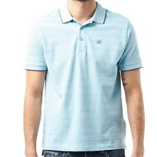 DUCK AND COVER MENS PHASE POLO - SKY BLUE – SMALL – BNWT